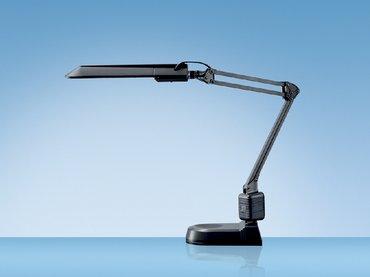 Bureaulamp hansa met spaarlamp ecostar zwart wuestman